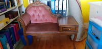 brown wooden bed frame with mattress Greater London, NW11 7ES