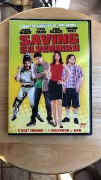 Saving Silverman DVD Movie Laurel