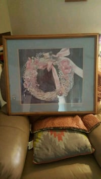 white and pink flower painting Colorado Springs, 80904