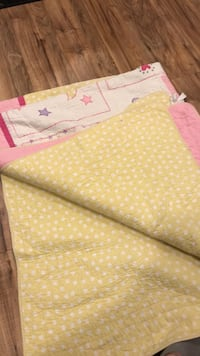 Yellow and white polka dot textile Framingham, 01701