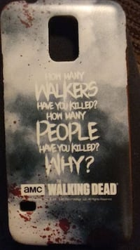 Samsung Galaxy S5 Walking Dead Cases (2pack)