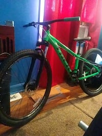 green and black hardtail mountain bike Alexandria, 22314