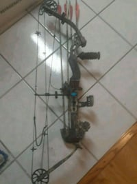 Compound Hunting Bow Rapture Diamond by Bowtech custom used