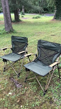 Two Outdoor Folding Chairs  Fayetteville, 17222
