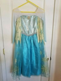 Authentic Disney Store Frozen Elsa Dress size 10 Dover, 33527