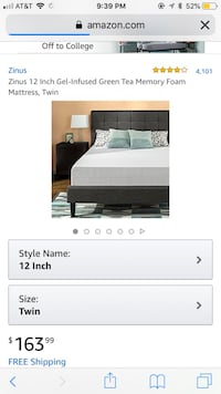 Twin mattress Falls Church, 22042