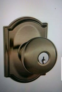 Schlage Camelot Collection Keyed Entry Knob