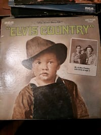 """Elvis Country"" ""I'm 10,000 Years Old"" Vinyl  Record LP"