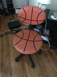 brown and black basketball rolling chair Inwood