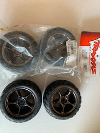 Rc traxxas tires and wheels with foam Washington, 20024