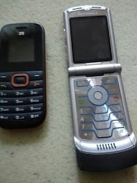 Two older cell phones $10 for both Victoria, V8T 3Y9