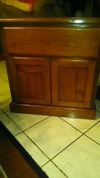 Cabinet solid wood