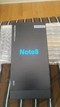 Brand new Samsung Note 8. Sealed and Factory unlocked.  Markham, L3R 7M1