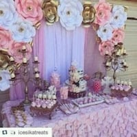 pink and white party set Palmdale, 93552