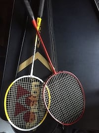 2 Badminton Racquet with one Bag JERSEYCITY