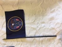 Military desk flags
