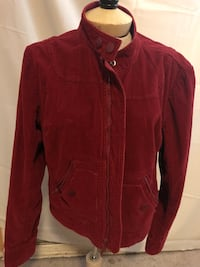 red zip-up jacket Whittier, 90605