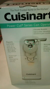 Cuisinart can opener (Brand new) Oxon Hill, 20745