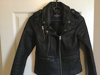 Ladies size xs American Eagle Leather Jacket (Like New)  Milton, L9T 2R1