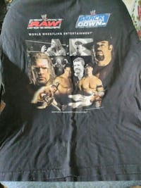 WWE Smackdown and raw 2xl t-shirt 35 km