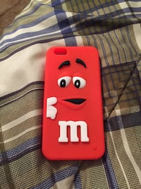M&M chocolate 3 d skin cover case for I phone 6.  Hasbrouck Heights, 07604