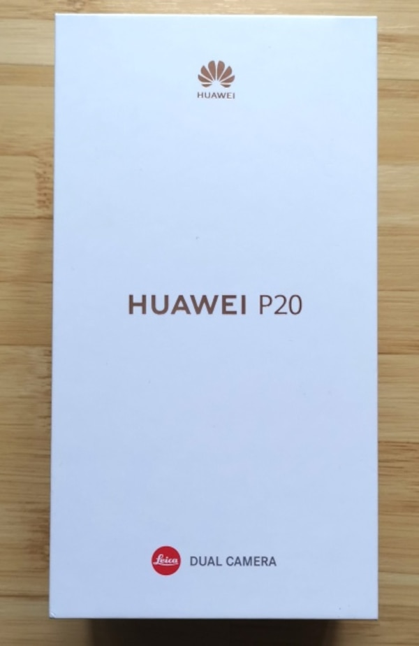 BNIB Huawei P20 Black 128GB Unlocked