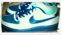 Black and white Nike's size 5.5y