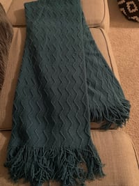 NEW Teal throw blanket. 50x60   $20 each or both for $35 Woodbridge, 22191
