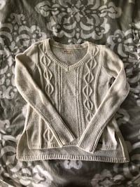 Cream knitted sweater Winchester, 40391