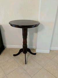 $250 Value wood High Top Table $70