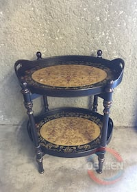 Two-Tiered Tea Table in Good Condition *Detachable Huntington Beach