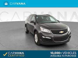2017 Chevy Chevrolet Traverse suv LS Sport Utility 4D Gray