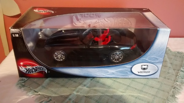 Hot Wheels Metal Collection Black Viper Car 0