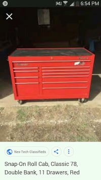 Snap-on Double Bank tool box Coralville, 52241
