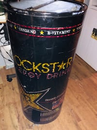 black and red Rockstar Energy Drink cooler Lyman, 29365