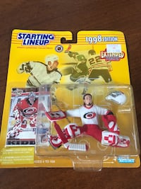 Kenner Starting Lineup 1998 Carolina Hurricanes Trevor Kidd