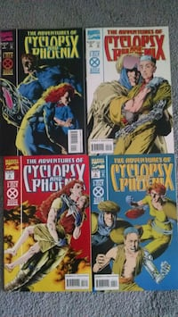 Cyclops and Phoenix intro Cable