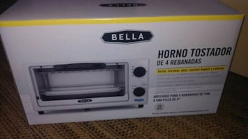 Bella 4 slices toaster oven