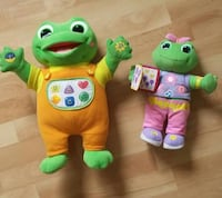 green frog plush toy music, still available  King City