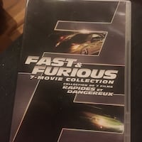 Fast and furious movie collection  Mississauga, L5M 3K4