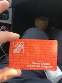 Home Depot store credit 30%off