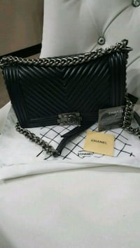 Chanel le boy  bag price reflect authenticity  Mississauga, L5W 1P1