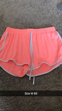 women's pink and white Nike shorts Calgary, T2Z 0R4