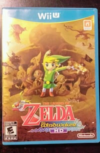 Wii U Legend of Zelda Wind Waker HD New Westminster, V3M 3Y3