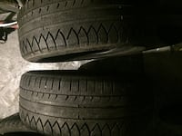 215/55R17 Michelin All season tires 545 km