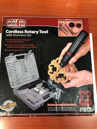 Solid cordless rotary tool