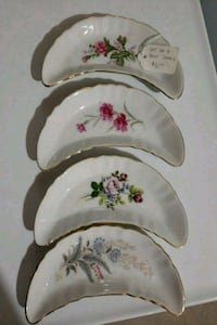 Set of four Bone dishes Harpers Ferry, 25425