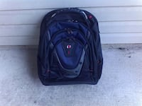 black and red backpack carrier Alexandria