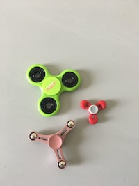 two red and green fidget spinners Pembroke Pines, 33029