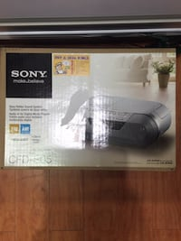 SONY CFD-S05 CD PLAYER IN BOX Toronto, M1H 2A4